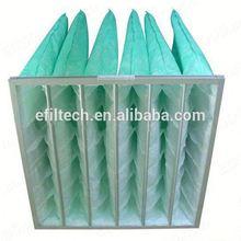 bag filter pocket filter nonwoven media for solar air conditioner