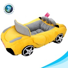 Hot fashion car shaped luxury pet dog beds pet home for dogs