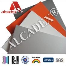 PE,HDPE, UVA aluminum composite panel price