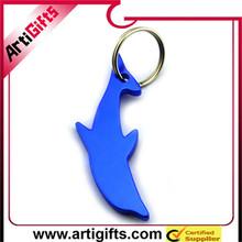Color brilliancy metal cats aluminum bottle opener key chain promotional gift