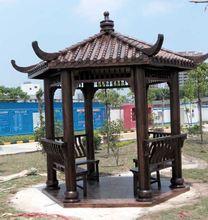 Wooden pavilion kits pavilion gazebo outdoor events LT-2118A