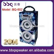 Hot music box mp3 player wooden speaker