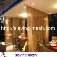 brilliant stainless steel diamond mesh curtain