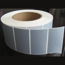 Paper Material and Waterproof Feature self adhesive roll blank label sticker