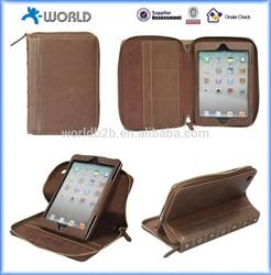 Book Portfolio Rotating Case Vintage for iPad mini / iPad mini Retina/ipad mini 3