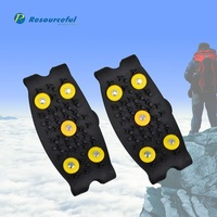 hot sale anti-slip Snow Spike Round Ice Grip Putting on Shoes