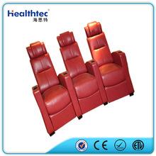 modern luxury italian leather sofa/cinema chair