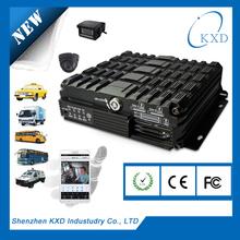Shenzhen ORENA 4 ch SD card Mobile car dvr G-sensor, gps, 3g, wifi mulity function mobile DVR-CW1000