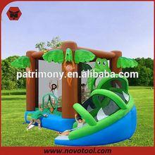 giant spiderman inflatable slide