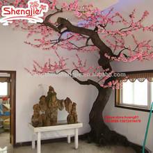 SJH122406 artificial cherry blossom tree indoor decoration flower tree peach tree