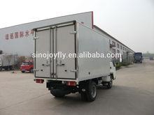 frozen food transport truck body refrigerator for daf