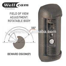 access control vandalproof waterproof wireless doorbell video intercom system
