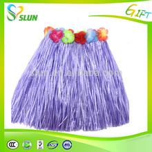 Cheap fashion hula skirt sexy grass table skirts