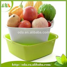 Barato precio de los hogares cestas de mimbre para fruta