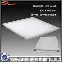 luminaria led manufactures china square tuning light 60x60 36w led light panel price