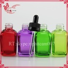 30ml square glass dropper bottle of e liquid stock delivery within 48 hours