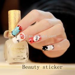 Fashional nail sticker, nail sticker manufacturer