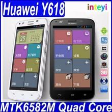 Original Huawei Y618 Telefono Cuadruple Nucleo 5.0 Pulgadas Android Dual Sim Wcdma gps 4gb ROM