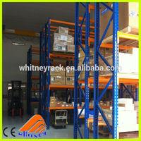 selective fifo storage racking , decorative metal shelving , food storage shelves for warehouse storage