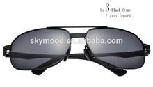 aluminum frame polarized sunglasses high quality alloy
