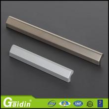 2014 Hot promotional aluminum ally alumium black cabinet furniture wardrobe cabinet bathroom drawer pull handle