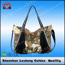 2014 wholesale china leather fashion imported designer bag guangzhou handbag