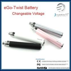 Low price high quality original Joyetech XL eGo-C Twist Battery in 650mAh/900mAh/1000mAh fast shipping