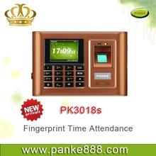 Factory wholesale fingerprint employee punch card attendance machine