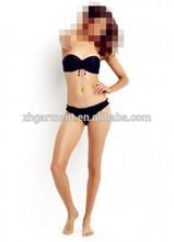 sexy bra bathing black bikini girl