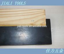 Rubber blade scraper / wooden handle tools
