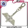 High Quality Metal Crafts enamel metal keychain promotion