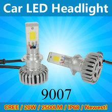 2015 hot new product LED headlight for Audi Q5 A4 Car led headlight 9007