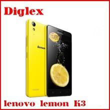 "New Arrival Original Lenovo K3 lemon K3 Qualcomm MSM8916 Quad Core 5.0""Android 4.4 1GB RAM 16GB ROM 8.0MP Camera Smartphone"