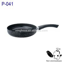 stone coated non-stick cookware set black stone frypan porcelain kitchen utensil