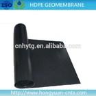 0.2-2mm HDPE waterproof geomembrane construction materials