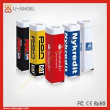 100% brand new materials power bank 2600mAh blue beautiful appearance