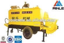 piston concrete pump for delivery concrete sale 15m3/h output with advanced configuration hydraulic power