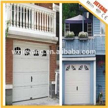 sectional garage door(steel with PU foam)