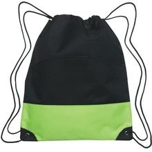 Latest Design Mini Patchwork Bag Promotion Drawstring Gym Bag