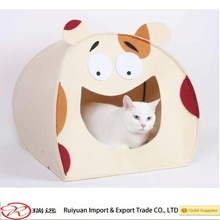 2015 Alibaba new pet product!! Multi Supercute design comfortable felt pet house for promotion Made IN China