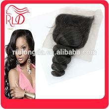 Economic promotional brazilian hair silk injected closure