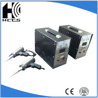 hand-actuated stiching machine leather welding