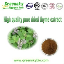High quality pure dried thyme extract