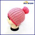 Hzm-13295007 l'ultima versione ragazza inverno moda carino glitter maglia ingrosso immagini di inverno cappelli da baseball