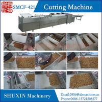 Vertical guillotine type kwai melon candy cutting machine