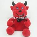 2014 caliente de la venta del diablo rojo con manto de peluche de juguete