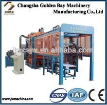 Waste material project, Full Automatic brick making plant, hydraulic block Making machine