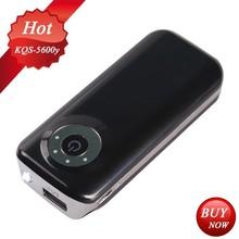 2015 new slim camera design mobile power bank 5600mAh