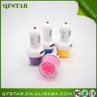 2015 manufacturer in china colorful portable travel power charger