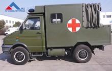 Decontamination vehicle